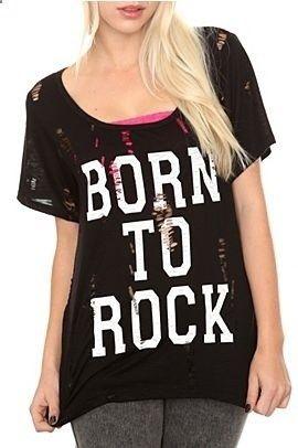 BORN TO ROCK T-shirt AI01