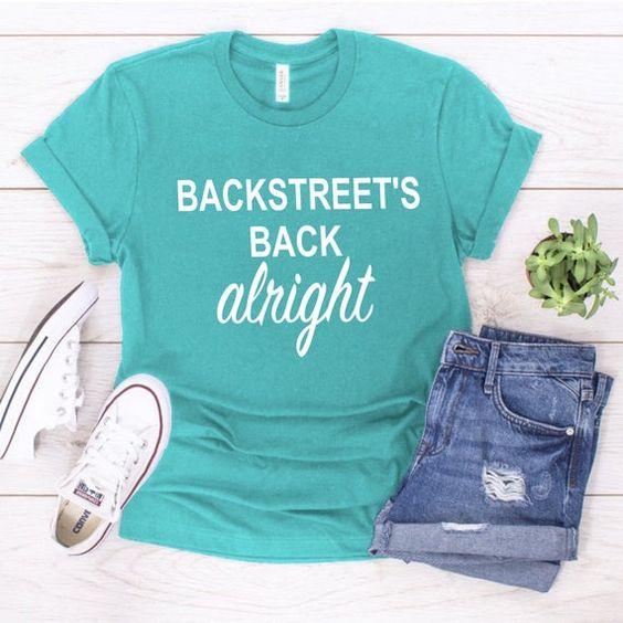 Backstreet's Back T-shirt AI01