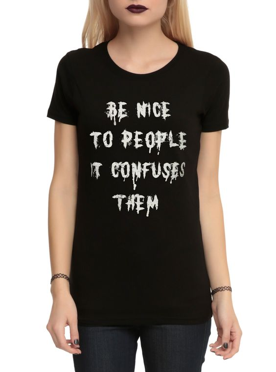 Be nice to people T-shirt AI01