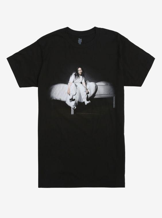 Billie Eilish When We All Fall Asleep T-Shirt AD01
