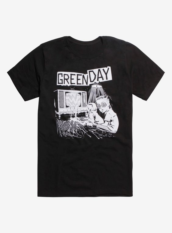 Green Day Hypnotized Kids TV T-Shirt AD01