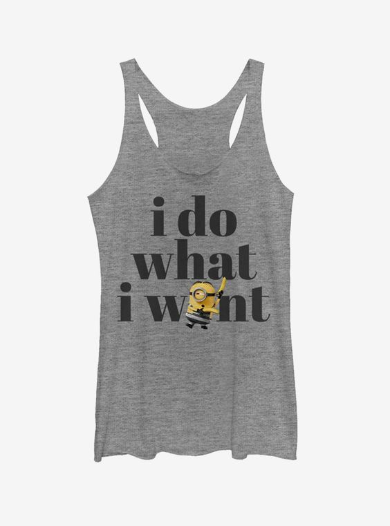 I Do What I Want Tank Top EM01