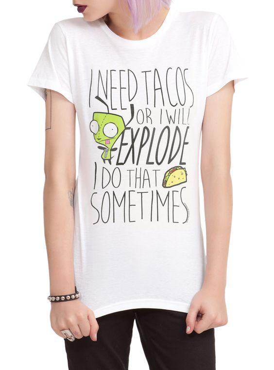 I NEED TAC0S T-shirt AI01