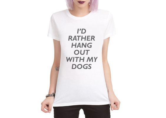 I'D RATHER HANG T-shirt AI01