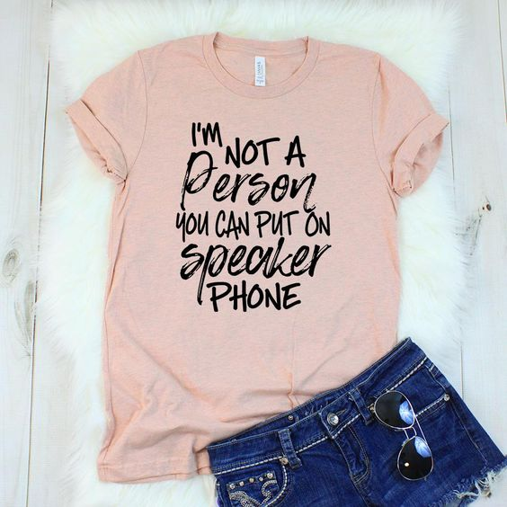 I'm Not a Person T-shirt AI01