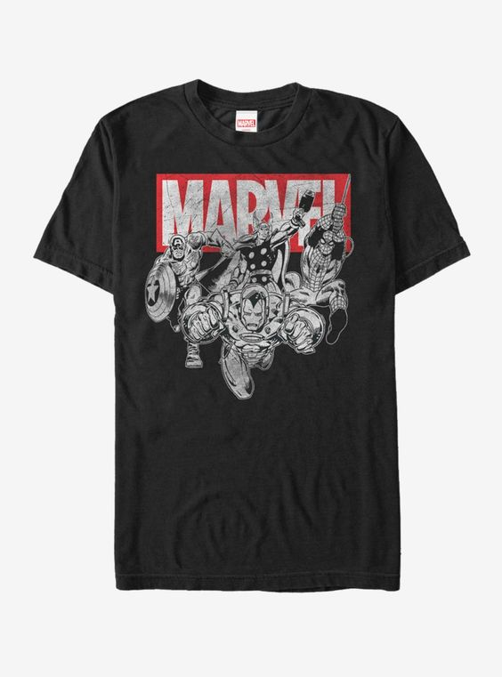 Marvel Avengers Ready T-Shirt AD01