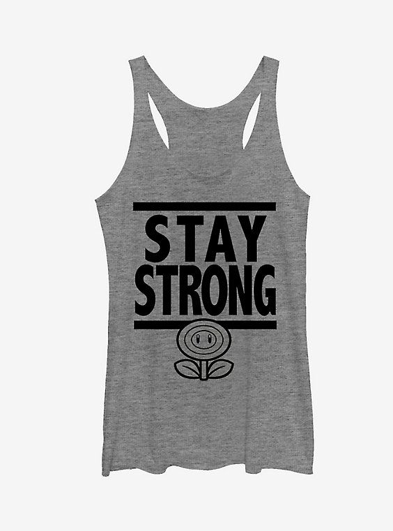 Stay Strong Tank Top EM01