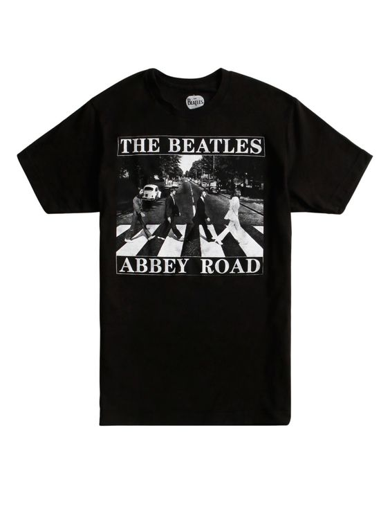 The Beatles Abbey Road T-Shirt AD01