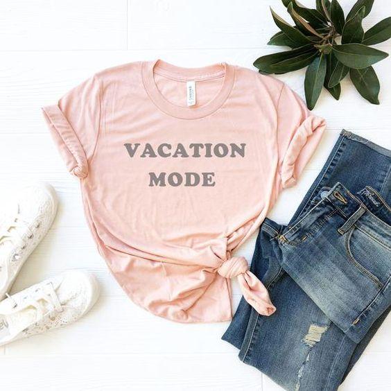 Vacation Mode T-shirt AI01
