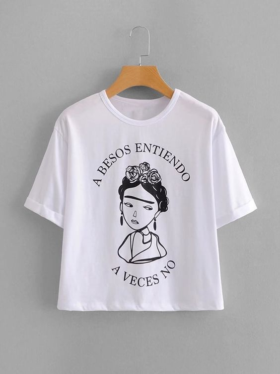 A Besos Entiendo Figure T-Shirt SR01