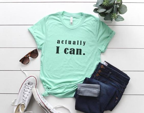 Actually I can T-shirt AI01