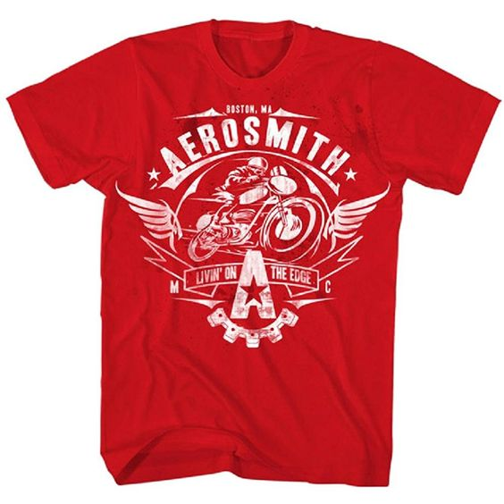 Aerosmith Mens T-Shirt FR29