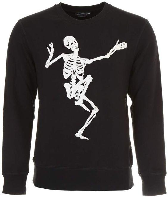 Alexander McQueen Skull Sweatshirt FD01