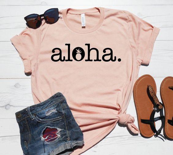 Aloha T-Shirt FR01
