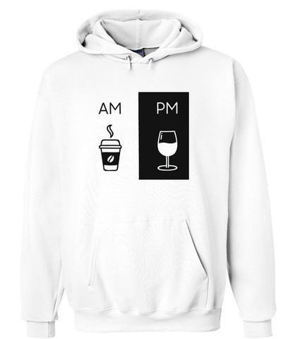 Am Pm Drink Hoodie ER01