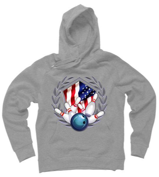 American Bowling Hoodie FD01