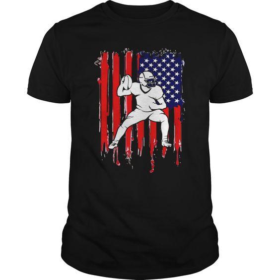 American Football T Shirt SR01