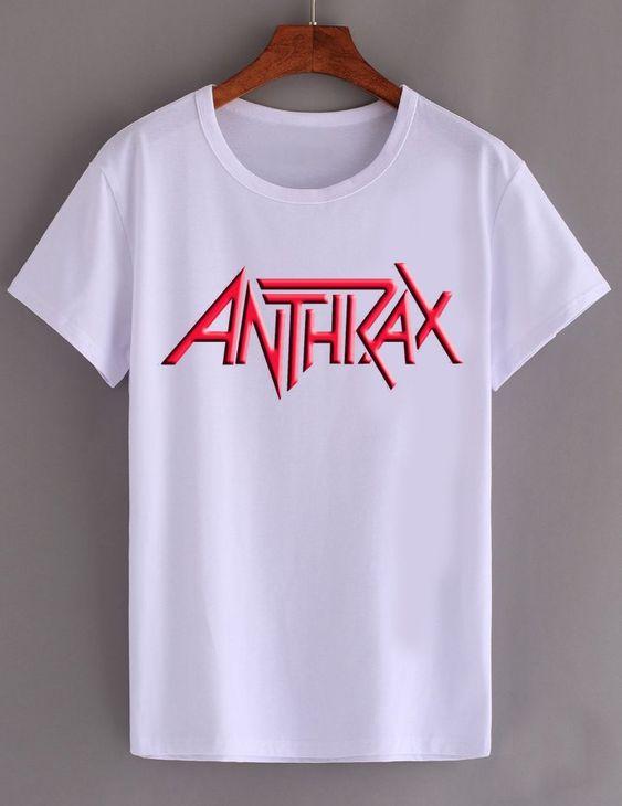 Anthrax Rock Band T Shirt SR01