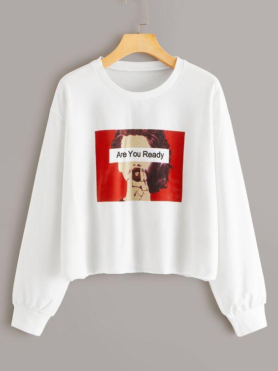 Are You ready Figure Sweatshirt SR01
