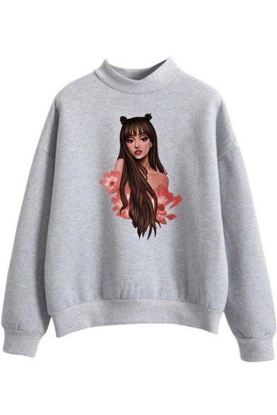 Ariana Grande Figure Sweatshirt SR01