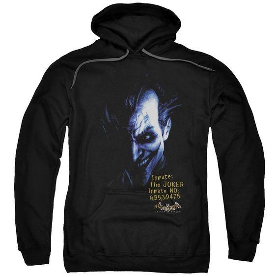 Arkham Joker Pullover Hoodie EL01