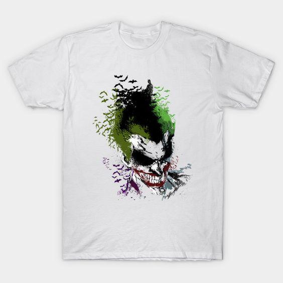Arkham Laugh Joker T-Shirt EL01
