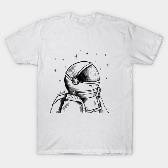 Astronaut space Classic T-Shirt AZ01