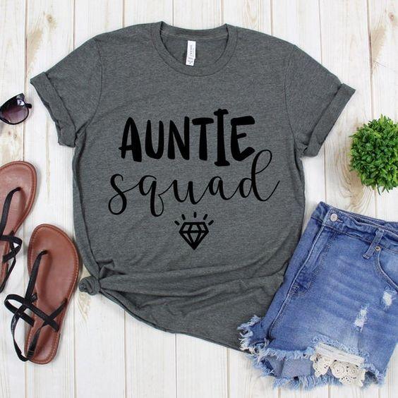 Auntie Squad T-Shirt AZ01