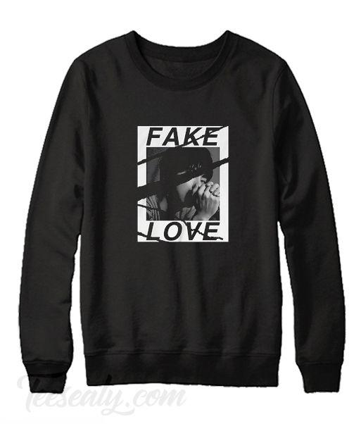 BTS Fake love back Sweatshirt FD