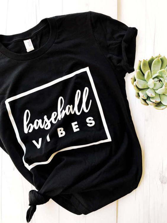 Baseball Vibes T-shirt AI01