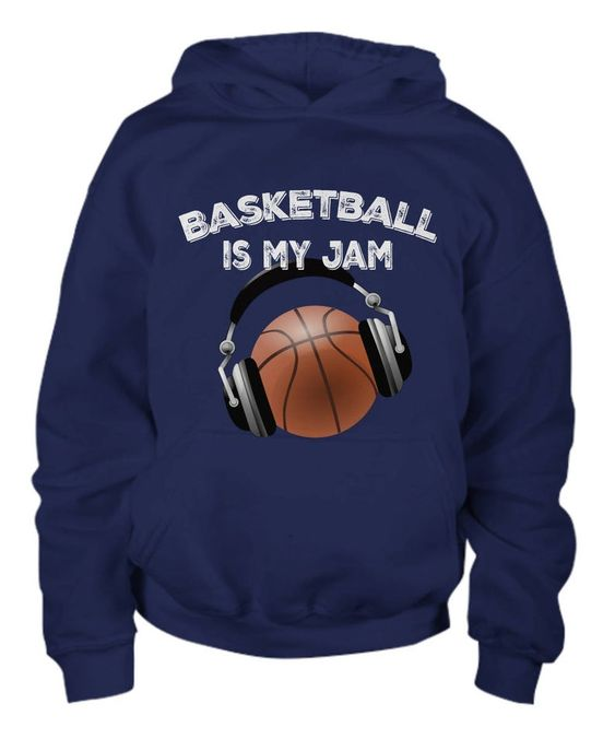 Basketball Is My Jam Hoodie FD01