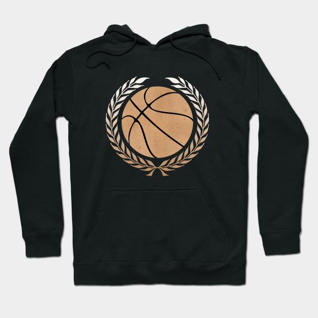 Basketball Logo Hoodie SR01