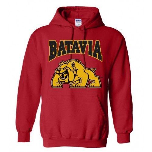 Batavia Red Hoodie Hoodie FR29