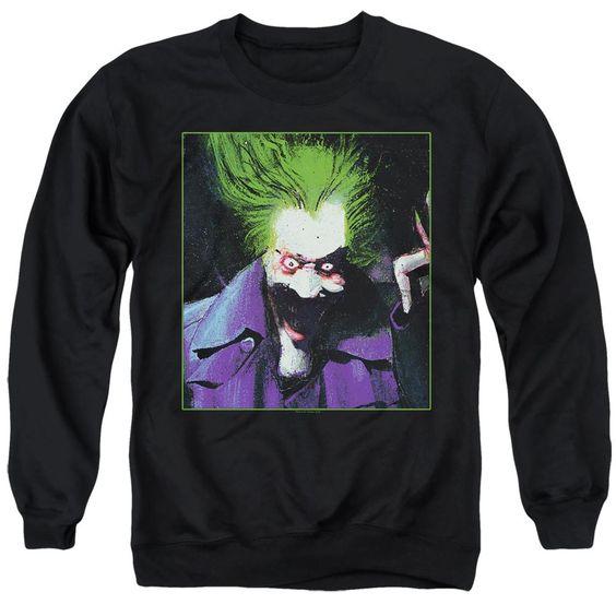 Batman Arkham Asylum Joker Sweatshirt EL01