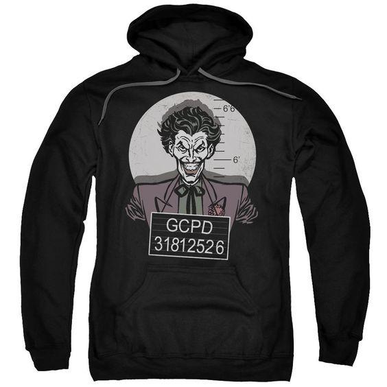 Batman Busted! Pullover Hoodie EL01