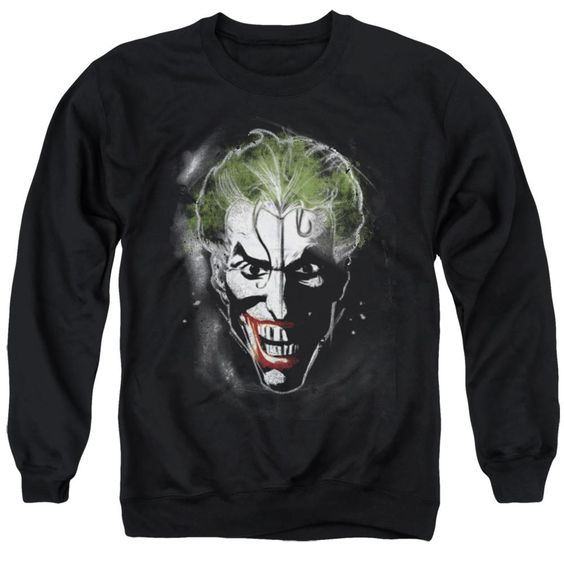 Batman Joker Face Makeup Sweatshirt EL01