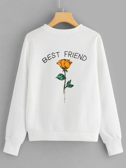 Best Friend Sweatshirt AI