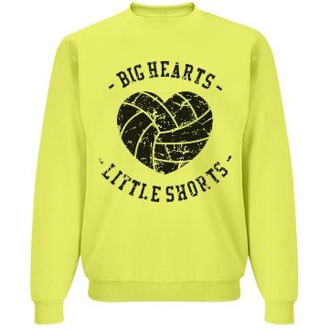 Big Hearts Little Shorts Sweatshirt FD01