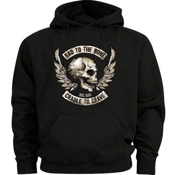 Biker Skull Hoodie FD01