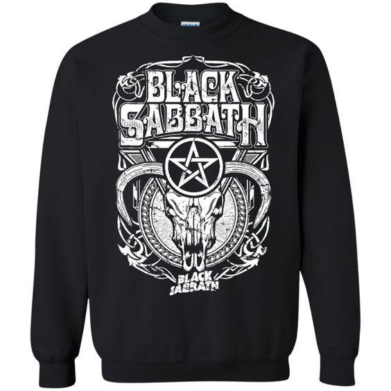 Black Sabbath Concert Sweatshirt SR01