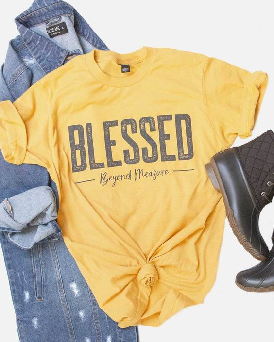 Blessed Beyond Measure T-shirt FD