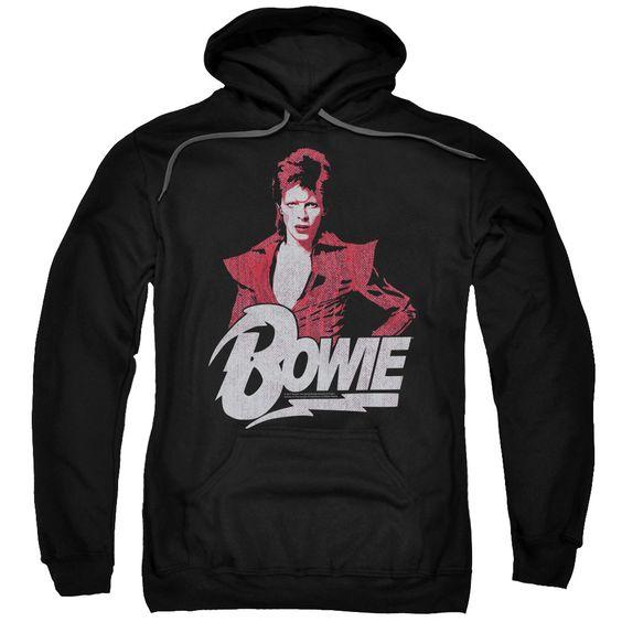 Bowie Concert Hoodie SR01