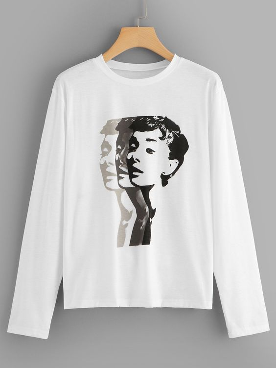 Casual Figure Sweatshirt SR01