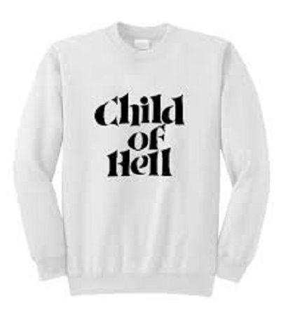 Child Of Hell Sweatshirt DV01