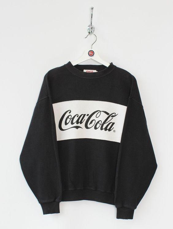 Coca Cola Black Sweatshirt VL28
