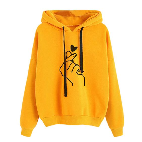 Colorful Plus Size Women's Hoodie ER01