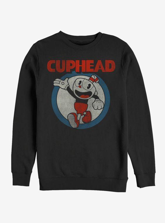 Cuphead Vintage Circle Sweatshirt AV01