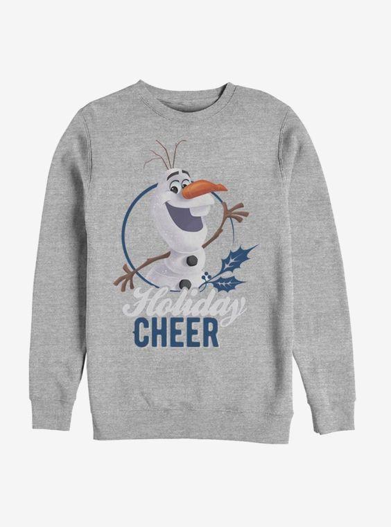 Disney Frozen Holiday Cheer Sweatshirt ER 26