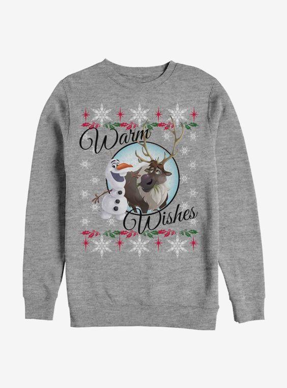 Disney Frozen Winter Wishes Sweatshirt ER 26