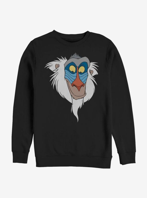 Disney The Lion King Rafiki Face Sweatshirt ER 26
